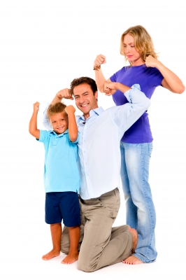family muscles