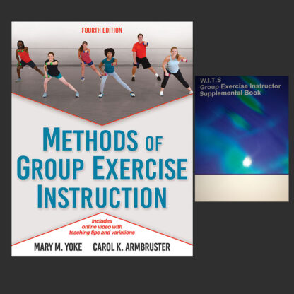 Group Exercise Instructor Book Combo