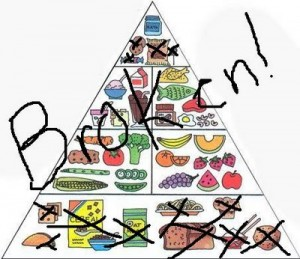 food pyramid broken