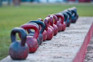 outdoor kettlebells
