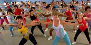 80s aerobics
