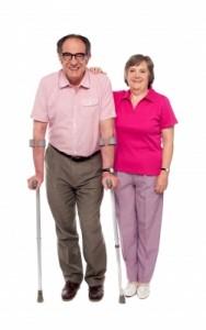 OA Couple Crutches