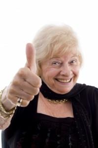 OA Lady Thumbs Up