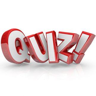 Webinar Quizzes