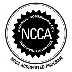 NCCA Accredited Program - Seal of Accreditation