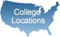 College Locations of W.I.T.S. Personal Training Schools