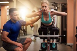 Personal Training Business Workout Session
