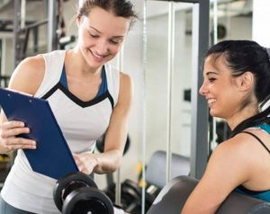 personal trainer practical skills