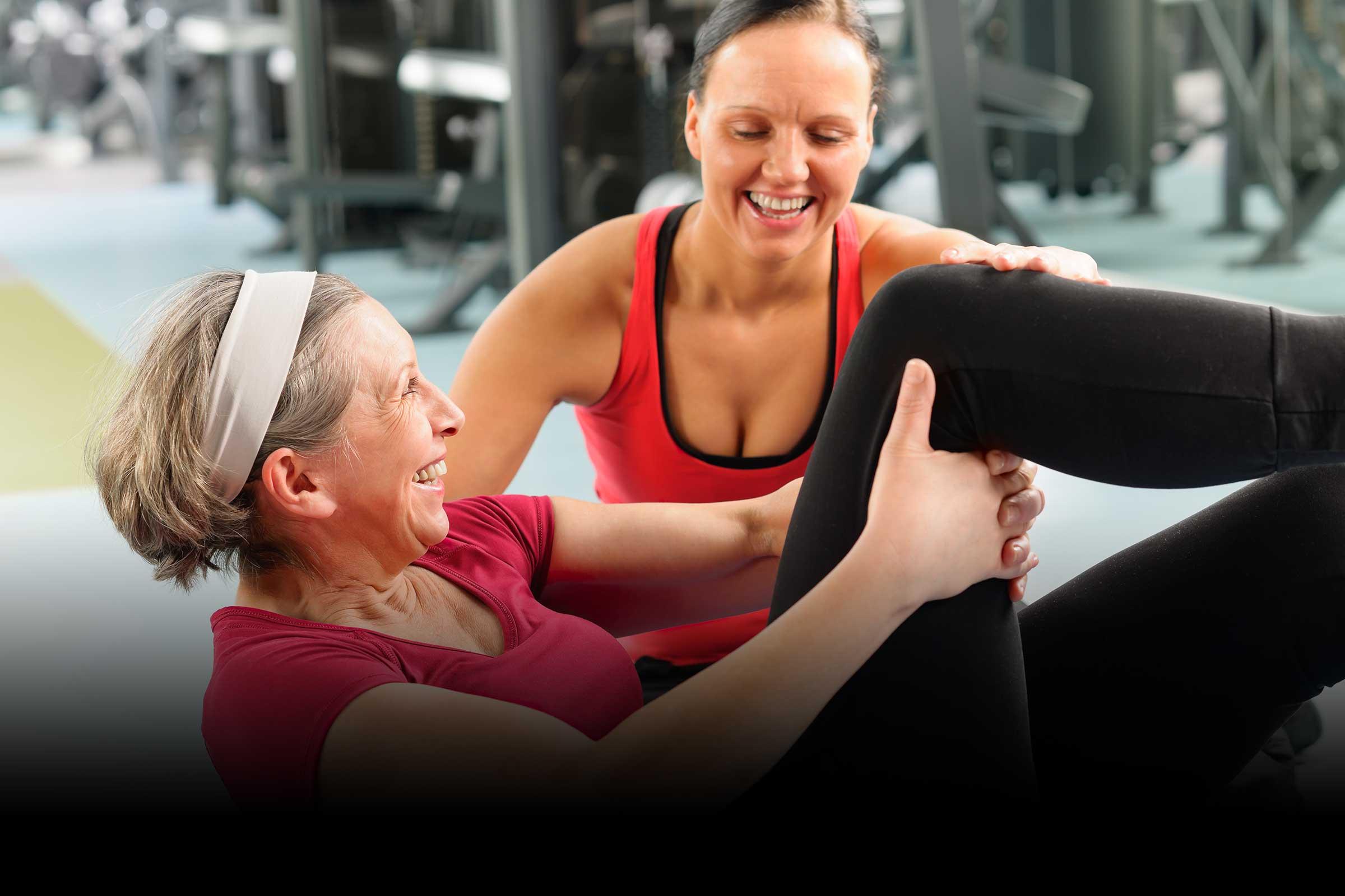 Older Adult Fitness Trainer