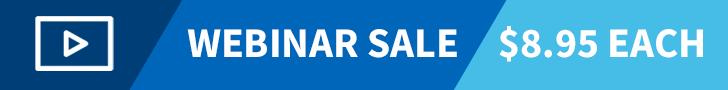 Webinar Sale