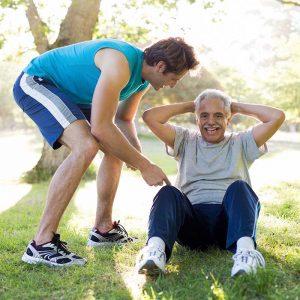 Senior Trainer Situps