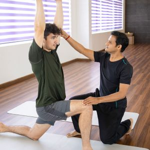 Lifestyle Wellness Stretching