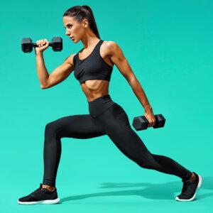 dumbbells fitness