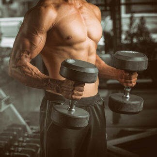muscle dumbbells