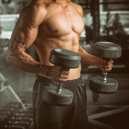 muscle dumbbells